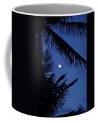 Blue Dawn Moon Coffee Mug