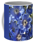 Blue Delphinium 9655 Coffee Mug