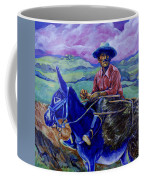 Blue Donkey Coffee Mug