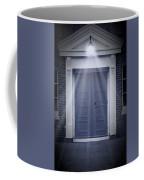 Blue Door Coffee Mug by Svetlana Sewell