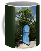 Blue Door To Childrens Garden Huntington Library Coffee Mug