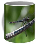 Blue Dragonfly 2 Coffee Mug