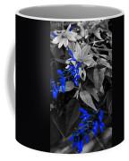 Blue Drippings Coffee Mug