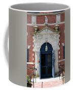 Blue Entrance Door Coffee Mug