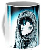 Blue Eye Lady Coffee Mug