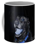 Blue Eyed Lab Smiling For The Camera Coffee Mug