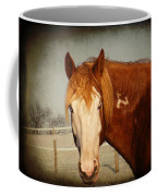 Blue Eyed Paint Coffee Mug