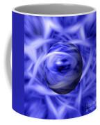 Blue Flame Background Coffee Mug