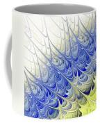 Blue Folium Coffee Mug
