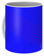 Blue Fourteen Coffee Mug