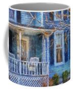 Blue Front Porch Photo Art 01 Coffee Mug