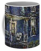Blue Front Porch Photo Art 04 Coffee Mug