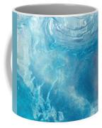 Blue Glacier Ice Coffee Mug