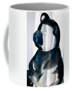 Blue Glass Bear Coffee Mug