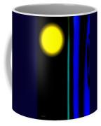 Blue Glass Coffee Mug by Bob Orsillo
