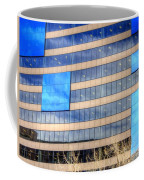 Blue Glass Reflections 4993 Coffee Mug