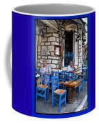 Blue Greek Taverna Coffee Mug