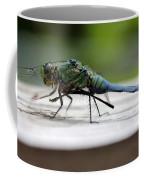 Blue Green Darter Coffee Mug