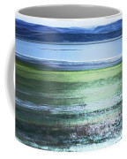 Blue Green Landscape Coffee Mug