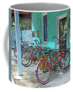 Blue Heaven Key West Bicycles Coffee Mug