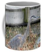 Blue Heron 2 Coffee Mug
