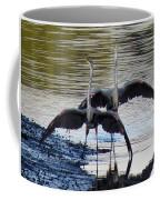 Great Blue Heron Ballet Coffee Mug