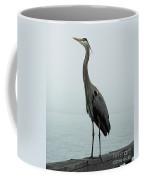 Blue Heron Fulton Harbor Tx Coffee Mug
