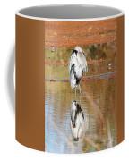Blue Heron Grooming Coffee Mug