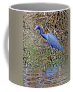 Blue Heron Louisiana Coffee Mug