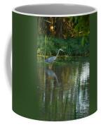 Blue Heron Magic Coffee Mug