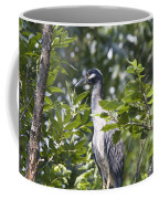 Blue Heron Profile Coffee Mug