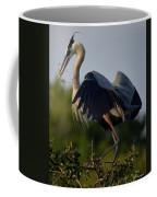Blue Heron Wing Tips Coffee Mug