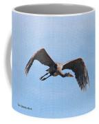Blue Herons Last Fly By Coffee Mug
