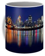 Blue Hour In Cincinnati Coffee Mug