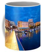 Blue Hour Zadar Waterfront View Coffee Mug