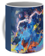 Blue Hurricane Coffee Mug