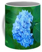 Blue Hydrangea Flower Art Prints Nature Floral Coffee Mug