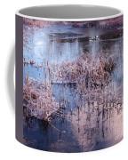 Blue Ice And Reflections Coffee Mug
