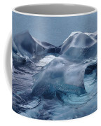 Blue Ice Sculpture Coffee Mug