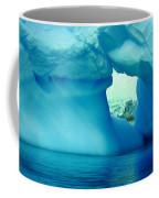 Blue Iceberg Antarctica Coffee Mug