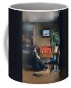 Blue Interior Coffee Mug