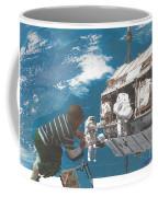 Blue Is My World Coffee Mug