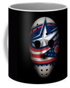 Blue Jackets Goalie Mask Coffee Mug