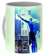 Blue Jesus Coffee Mug