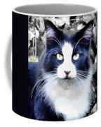 Blue Kitty Two Coffee Mug