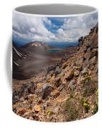 Blue Lake Of Tongariro National Park New Zealand Coffee Mug