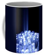 Blue Led Lights With Light Beam Coffee Mug