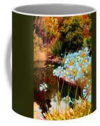 Blue Lily Water Garden Coffee Mug