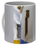 Blue Line To The Corner Coffee Mug