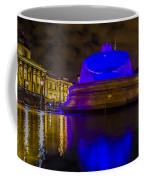 Blue London Fountain Coffee Mug